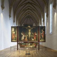 Vue de la chapelle, Grünewald et Nicolas de Haguenau,Retable d'Issenheim, 1512-1516,Musée Unterlinden Photo: Ruedi Walti